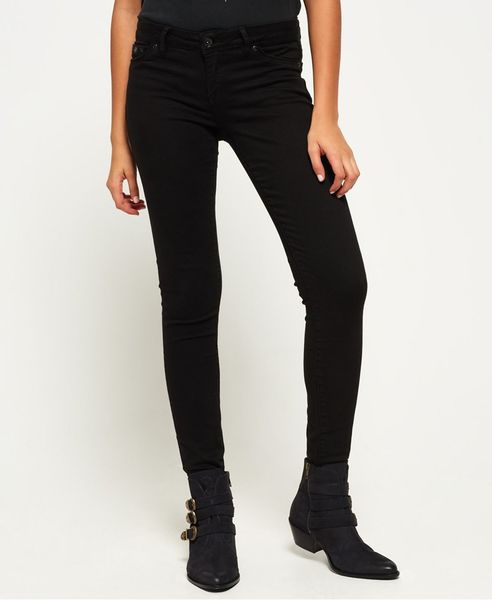 Superdry: Alexia Jeggings, black