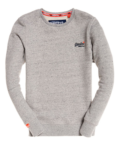 superdry: Orange label crew